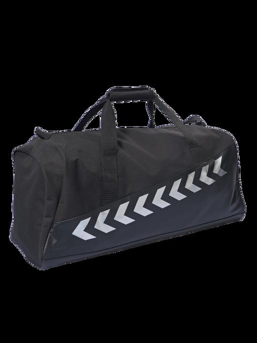 AUTHENTIC CHARGE SPORTS BAG, BLACK, packshot