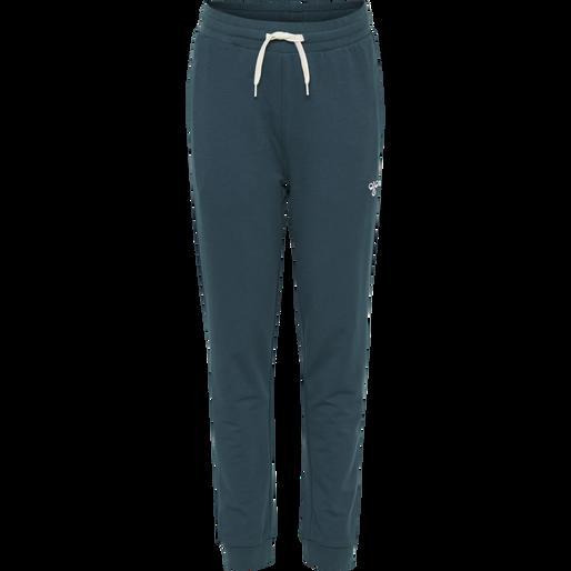 hmlPLESS PANTS, MAJOLICA BLUE, packshot