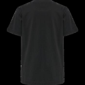 hmlCHARGE T-SHIRT S/S, BLACK, packshot