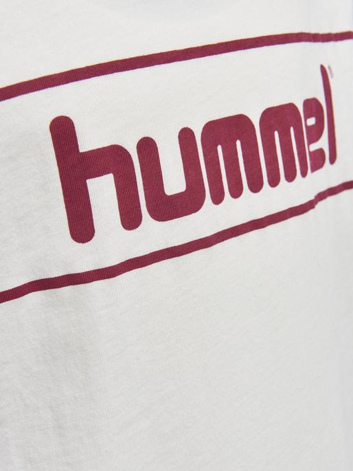 HMLJAKI T-SHIRT S/S, SNOW WHITE, packshot