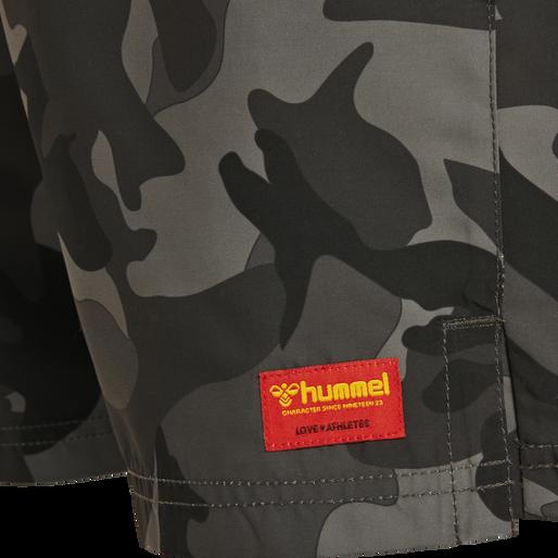 hmlEVAN BOARD SHORTS, BLACK, packshot