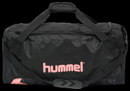 hmlACTIVE SPORTSBAG, BLACK/MELLOW ROSE, packshot