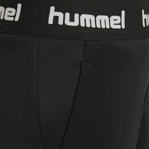 hmlHEINE PANTS, BLACK, packshot