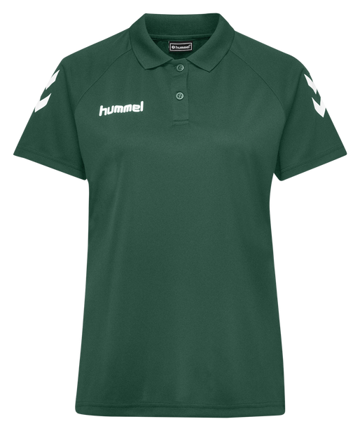 CORE FUNCTIONAL POLO WOMAN, EVERGREEN, packshot