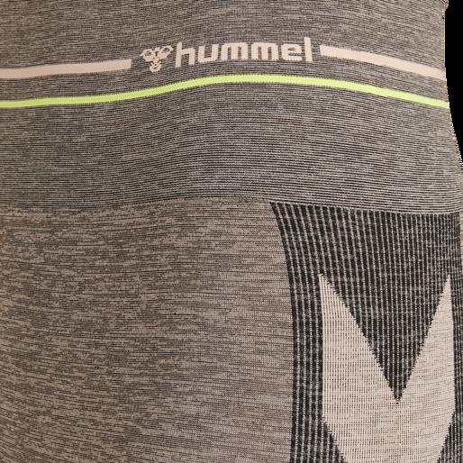 hmlGEMMA SEAMLESS TIGHTS, CLOUD PINK/BLACK, packshot