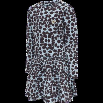 hmlBADIA DRESS L/S, AIRY BLUE, packshot