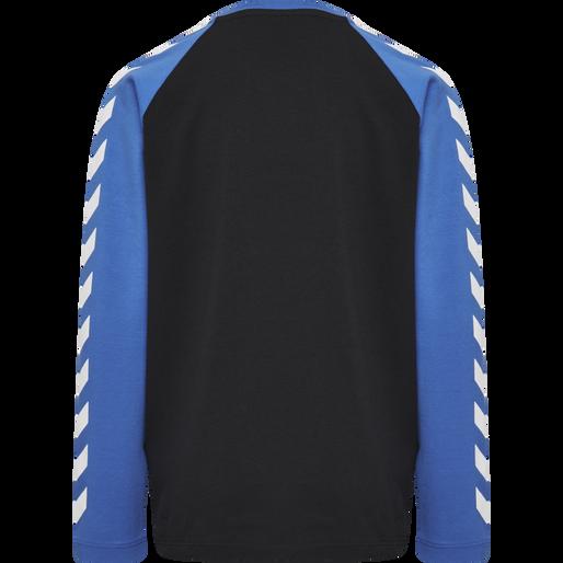 HMLBOYS T-SHIRT L/S, NEBULAS BLUE, packshot