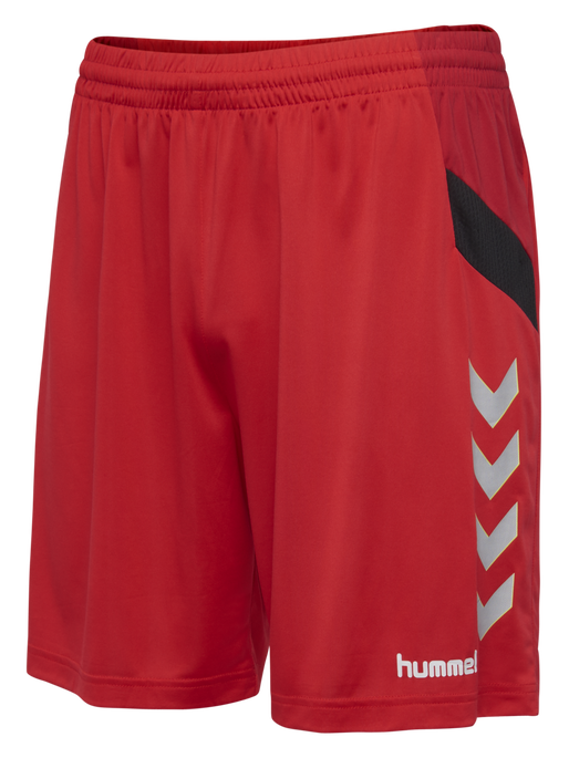 TECH MOVE KIDS POLY SHORTS, TRUE RED, packshot