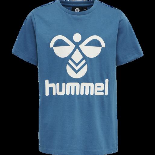 hmlTRES TEE SHIRT S/S, BLUE SAPPHIRE, packshot