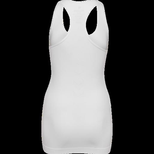 SUE SEAMLESS TOP, WHITE, packshot
