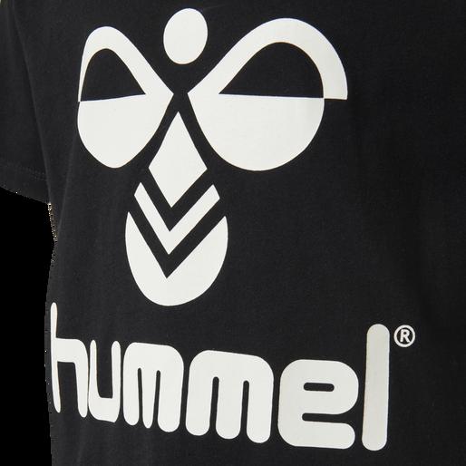 hmlTRES TEE SHIRT S/S, BLACK, packshot