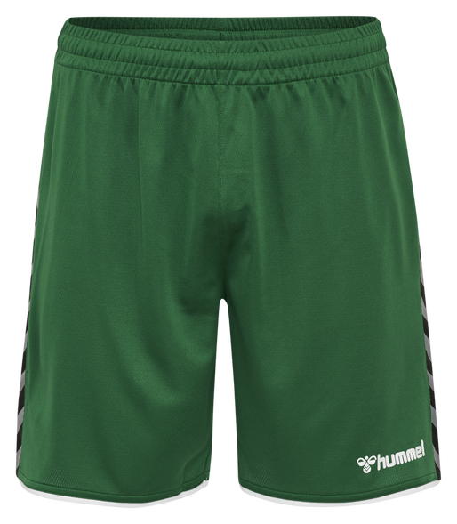 hmlAUTHENTIC KIDS POLY SHORTS, EVERGREEN, packshot