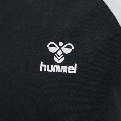 hmlMARK T-SHIRT S/S, BLACK, packshot
