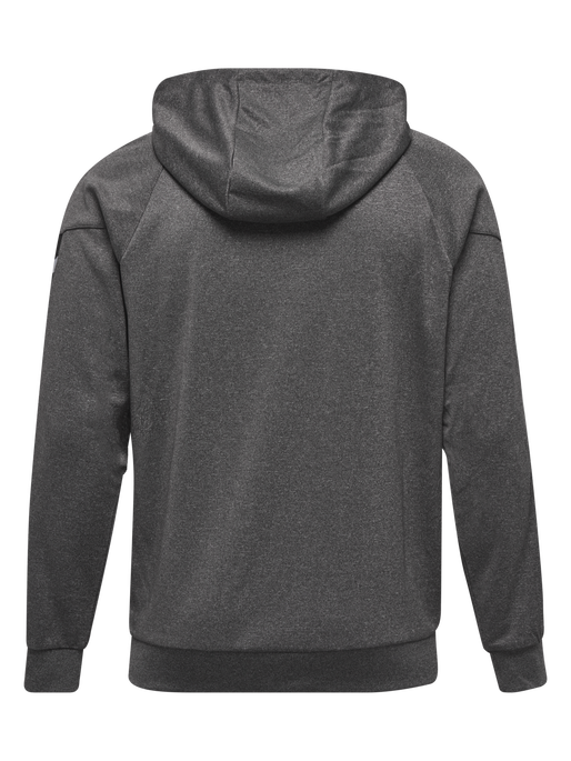 AUTH. CHARGE ZIP HOODIE, DARK GREY MELANGE, packshot