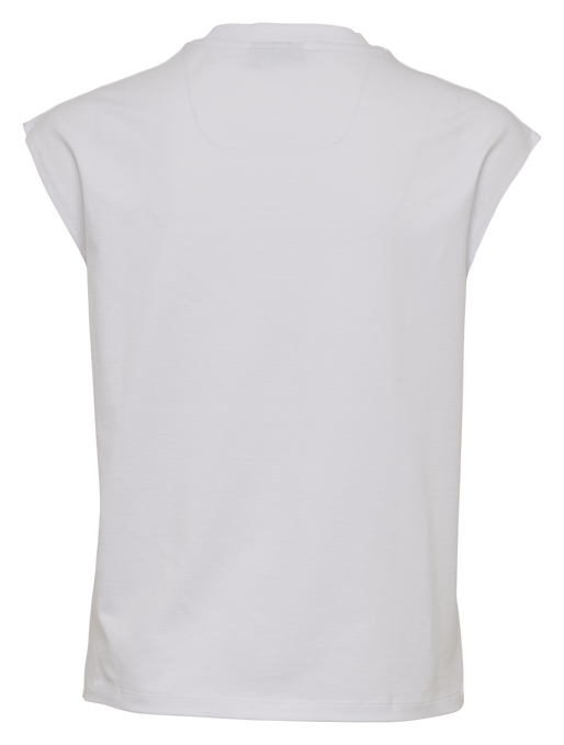 hmlLOKAL T-SHIRT S/L, WHITE, packshot