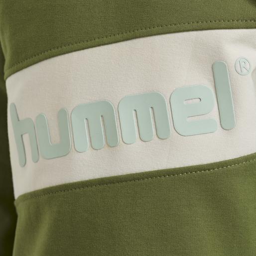 hmlCLEMENT SWEAT, PESTO, packshot