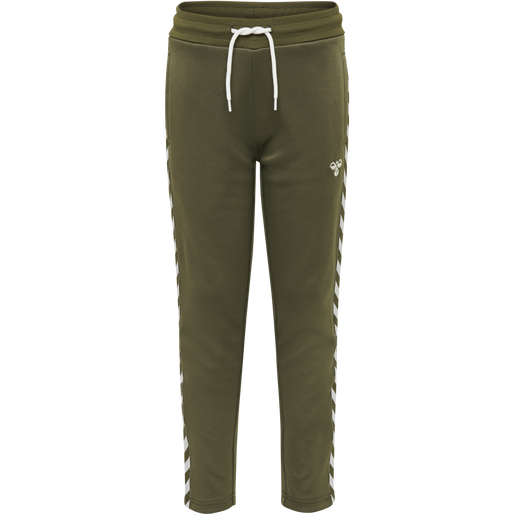 HMLKICK PANTS, IVY GREEN, packshot