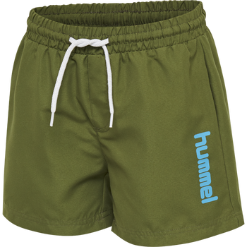 hmlBONDI BOARD SHORTS, PESTO, packshot