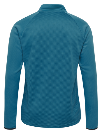 hmlAUTHENTIC PRO HALF ZIP SWEAT, CELESTIAL, packshot