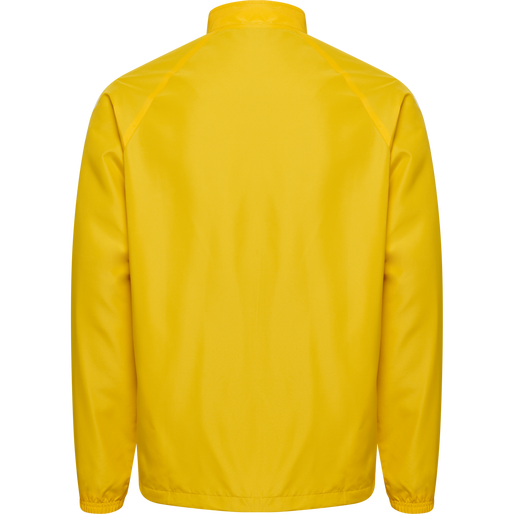CORE MICRO ZIP JACKET, SPORTS YELLOW, packshot