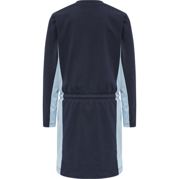 hmlBAELE DRESS L/S, BLACK IRIS, packshot
