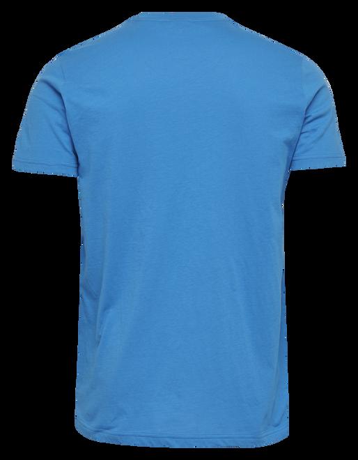 hmlPETER T-SHIRT S/S, BLUE ASTER, packshot