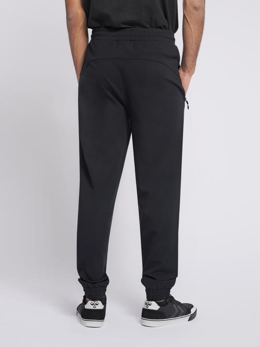 hmlLAURI REGULAR PANTS, BLACK, model