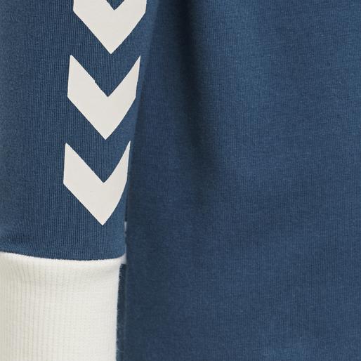 hmlMAUI T-SHIRT L/S, MAJOLICA BLUE, packshot
