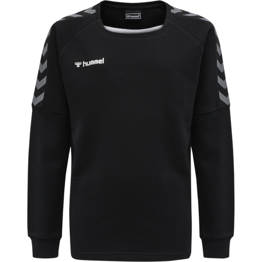 hmlAUTHENTIC KIDS TRAINING SWEAT, BLACK/WHITE, packshot
