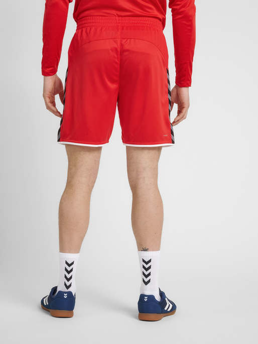 hmlAUTHENTIC POLY SHORTS, TRUE RED, model
