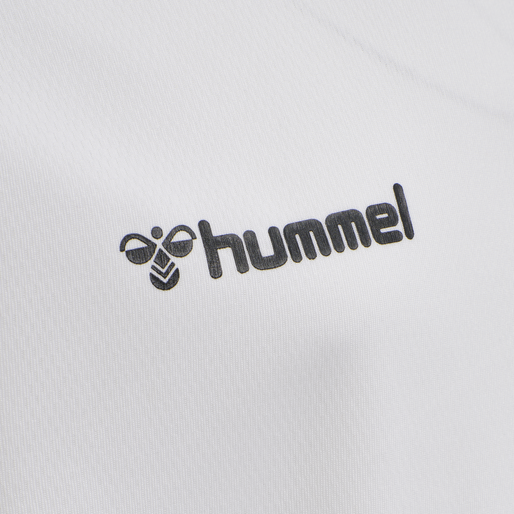 hmlAUTHENTIC KIDS POLY JERSEY L/S, WHITE, packshot