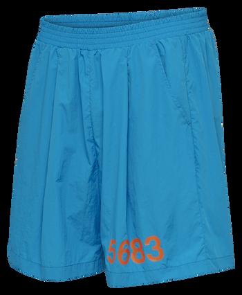 hmlWILLY HUSTLER SHORTS, ATOMIC BLUE, packshot
