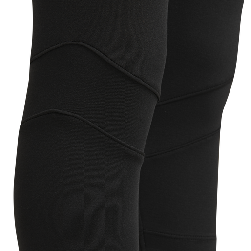 hmlTONSE 3/4 TIGHTS, BLACK, packshot
