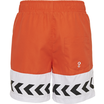 hmlJASON BOARD SHORTS, MANDARIN RED, packshot