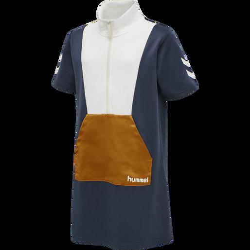 hmlEMOL DRESS S/S, BLUE NIGHTS, packshot