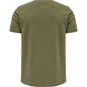 hmlKIRBY T-SHIRT, BURNT OLIVE , packshot