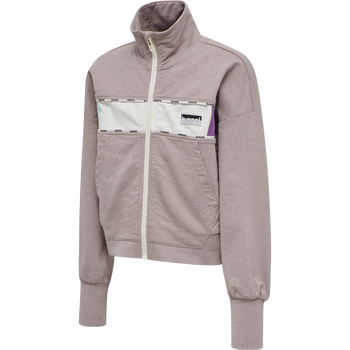 hmlCHARA ZIP JACKET , SPARROW, packshot