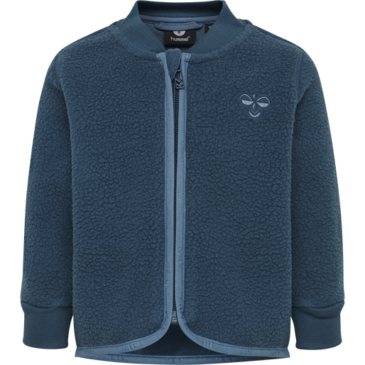 hmlJAMIE ZIP JACKET, MAJOLICA BLUE, packshot