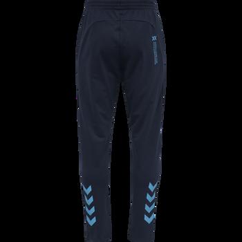 hmlACTION COTTON PANTS, BLACK IRIS/ATOMIC BLUE, packshot