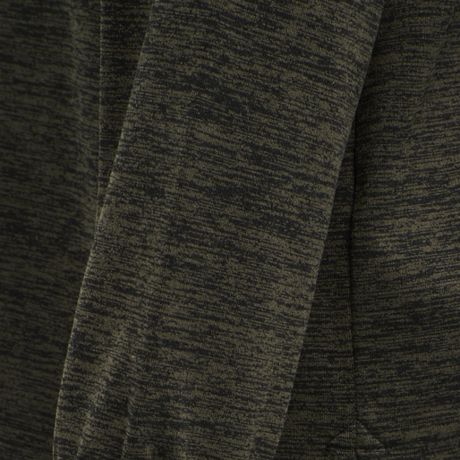 hmlBRANDON SWEATSHIRT, BLACK OLIVE, packshot