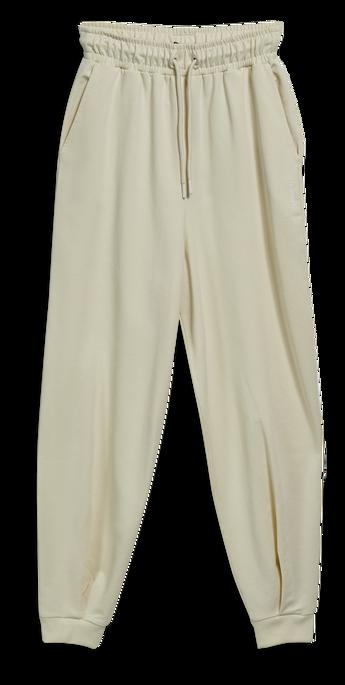 hmlGROOVY PANTS, WHITE ASPARGUS, packshot