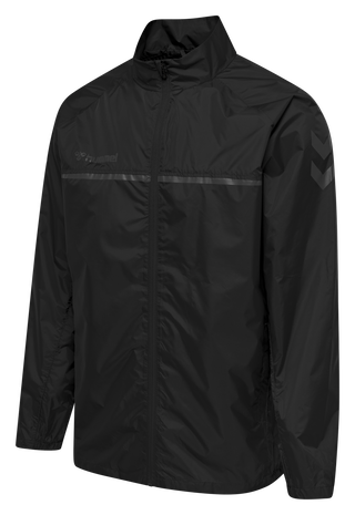 hmlAUTHENTIC PRO JACKET, ANTHRACITE, packshot