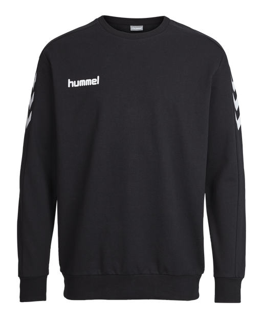 CORE COTTON SWEAT, BLACK, packshot