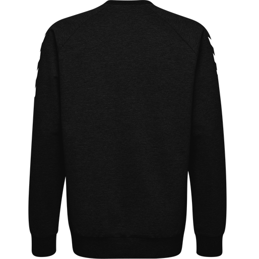 HUMMEL GO KIDS COTTON SWEATSHIRT, BLACK, packshot