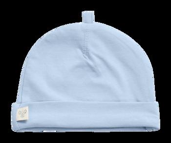 HMLBABY BEE HAT, BLUE FOG, packshot