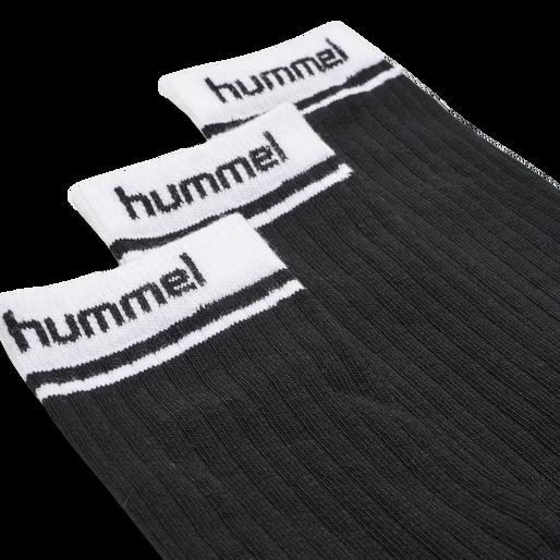 hmlCONI 3-PACK SOCK, BLACK, packshot