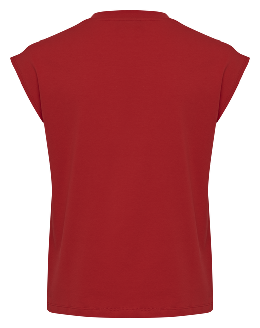 hmlLOKAL T-SHIRT S/L, TRUE RED, packshot