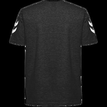 HUMMEL GO KIDS COTTON T-SHIRT S/S, BLACK, packshot