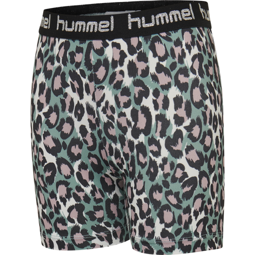 hmlMIMMI TIGHT SHORTS, OIL BLUE, packshot