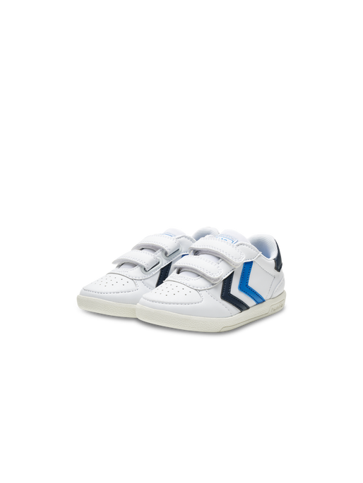 VICTORY II JR, WHITE/BLUE, packshot